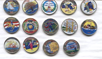 Jerrys Coin Shop Buying And Selling U S State Quarters - Rare us state quarters